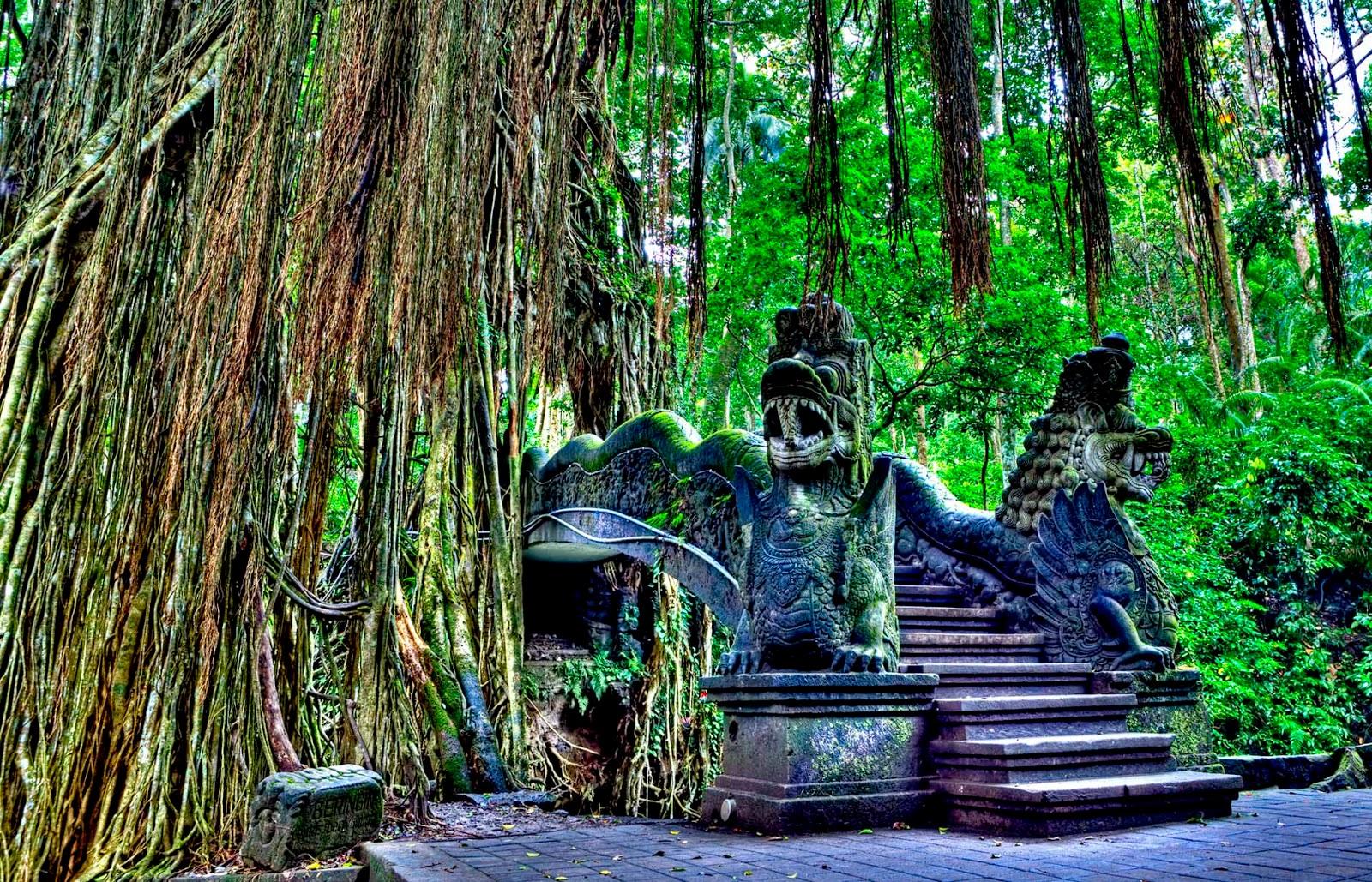 Tempat wisata-Bali Monkey Forest.