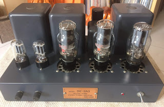 Sun Audio SV-2A3 SET Tube Amp Sold Sun%2Bfront