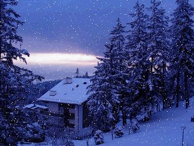 Beautiful Snowfall Real Snowfall Hd Desktop Wallpapers Snowfall