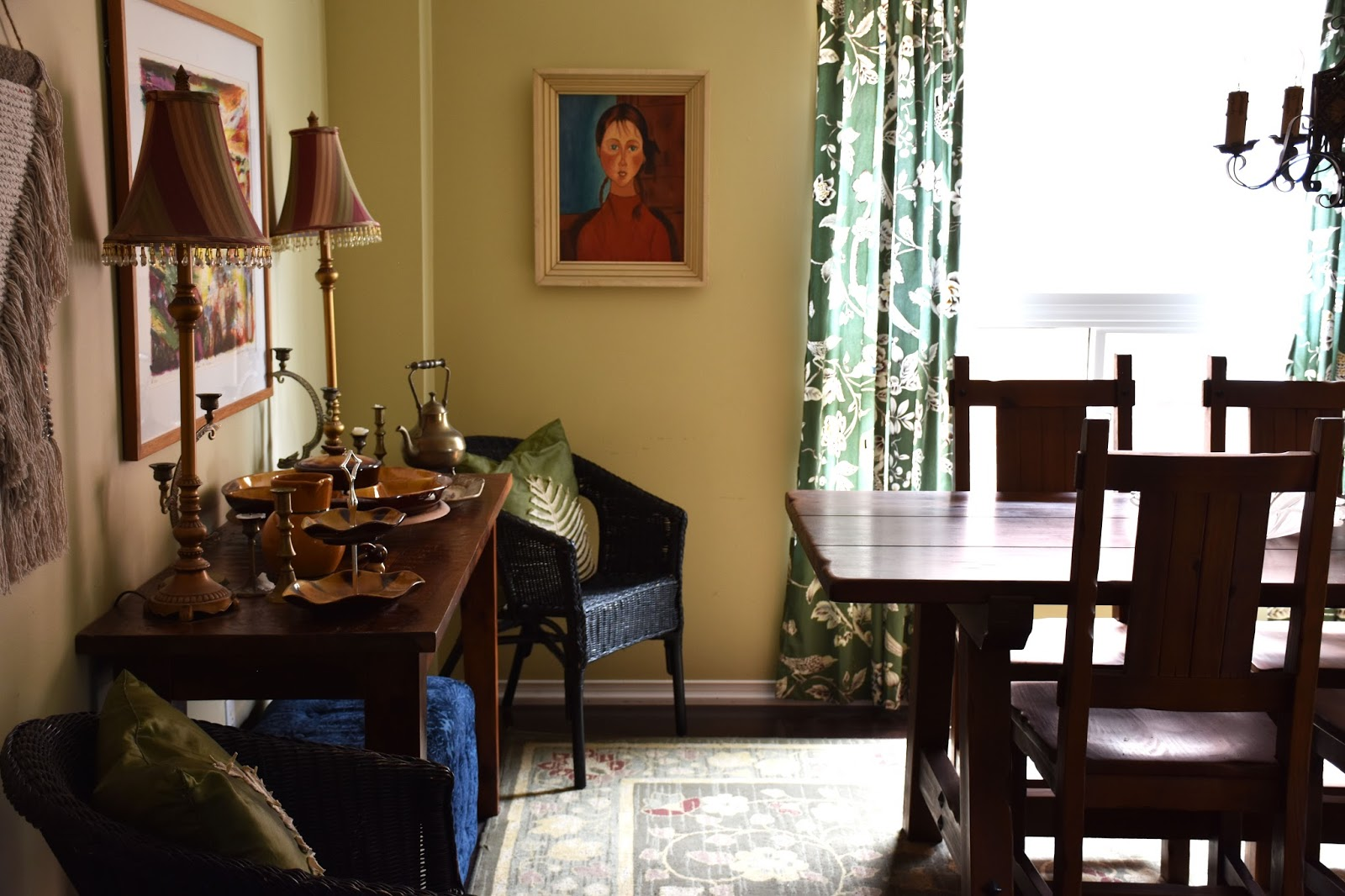 One Room Challenge Dining Room Makeover Week