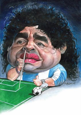 hand gottes maradona
