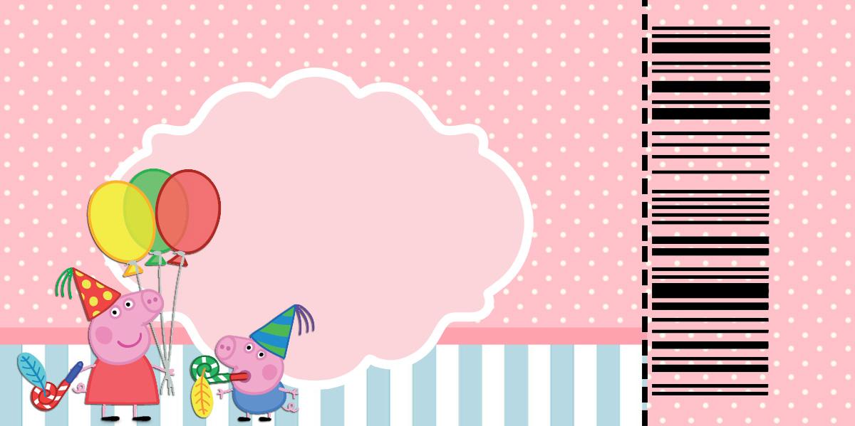 Peppa Pig Invitaciones Para Imprimir Gratis Ideas Y