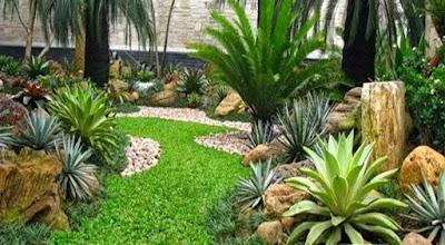 Taman Modern Minimalis - Tukang Taman Surabaya V