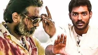 Vikram Vedha Official Teaser Review | R Madhavan's Shoe Mark on Vijay Sethupathi's shirt!