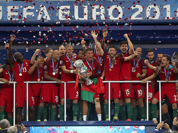 O dia em que fomos campeões da Europa