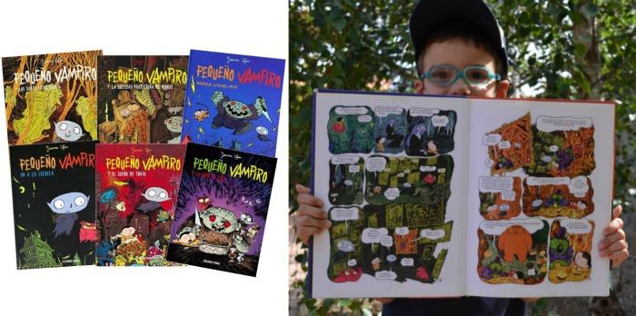 colección cómic niños Pequeño vampiro