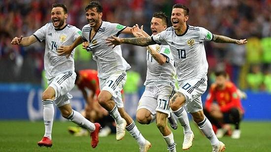 Đội tuyển Nga world cup 2014 bị nghi sử dụng Dopping.
