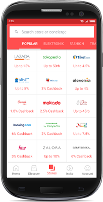 Cara Berbelanja Menggunakan Aplikasi Shopback
