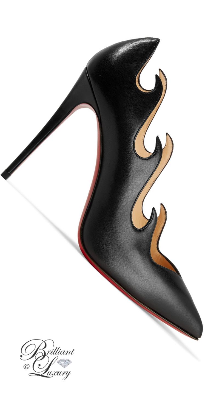 Brilliant Luxury ♦ Christian Louboutin Olavague Leather Pumps