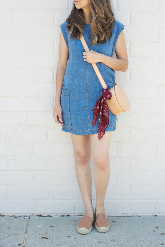 simple chambray dress