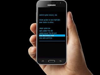Cara Memperbaiki Gagal Boot Pada Samsung J3