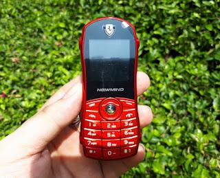Hape Mobil Unik Newmind F3 New Dual SIM Unique Phone