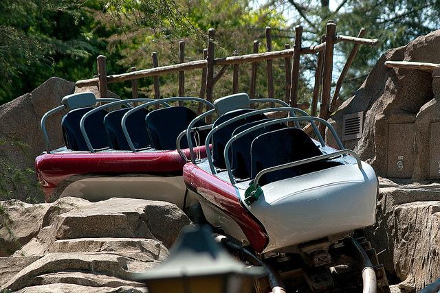 The Disneyland Traveler Blog The 2012 Matterhorn Bobsled