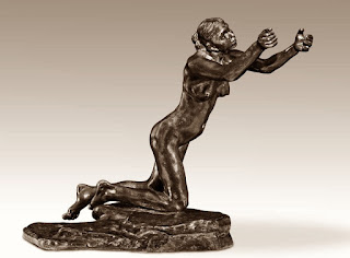 'La implorante' de Camille Claudel.