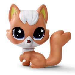 Littlest Pet Shop Series 1 Adorable Adventures Rowdy Redfox (#1-155) Pet