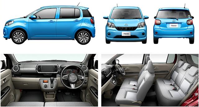Toyota Passo - Kereta Perodua Myvi Baru 2017 (Generasi ke-3)