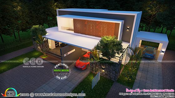 Ultra modern contemporary home 2890 sq-ft