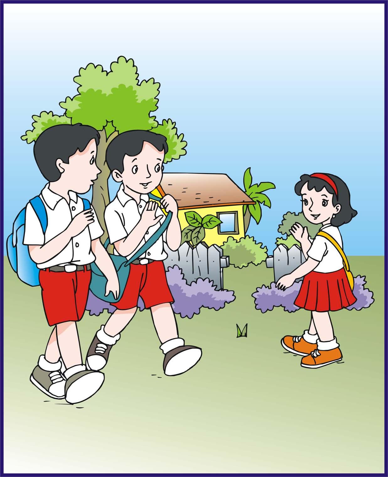 Jasa Ilustrator Buku Anak Contoh Ilustrasi Cover Buku Sd