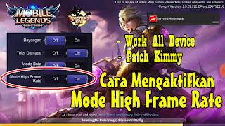 Cara Mengaktifkan Mode High Frame Rate Mobile Legends Di Semua Tipe Android