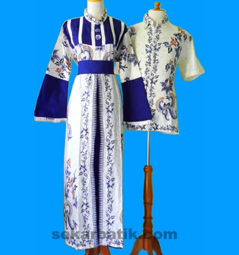 Model Baju Muslim Gamis Batik: Gamis Batik Muslimah Modern
