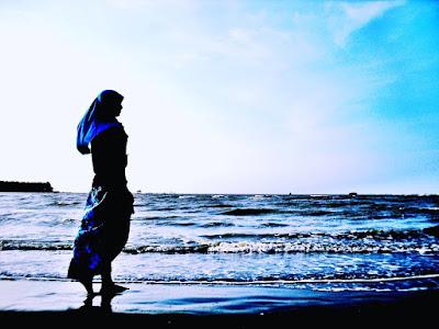 foto indahnya pantai muara beting bekasi