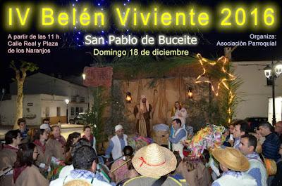 Belén Viviente de San Pablo de Buceite (Jimena de la Frontera) 2016