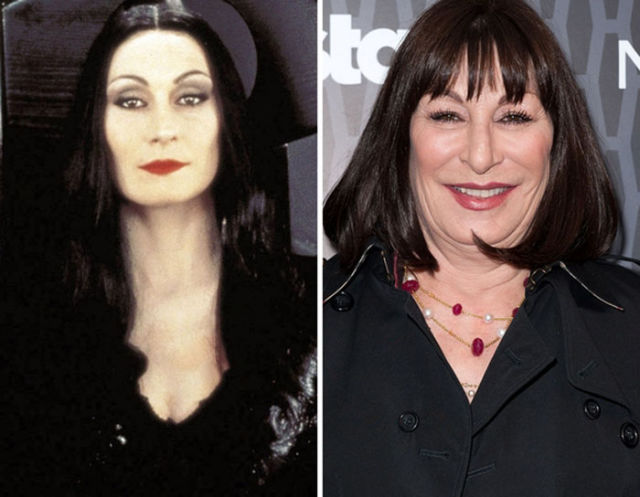 The Addams Family Then and Now ~ Damn Cool Pictures