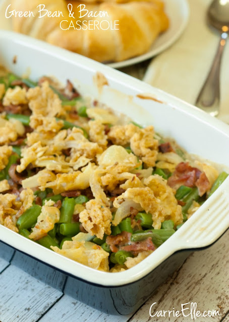 green bean bacon casserole recipe