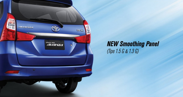 New Smoothing Panel Toyota Grand New Avanza