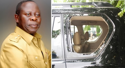 governor adams oshiomhole attacked thugs