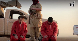 ISIS Machine Gun Victims At Point-Blank Range And Behead Them In Latest Photos