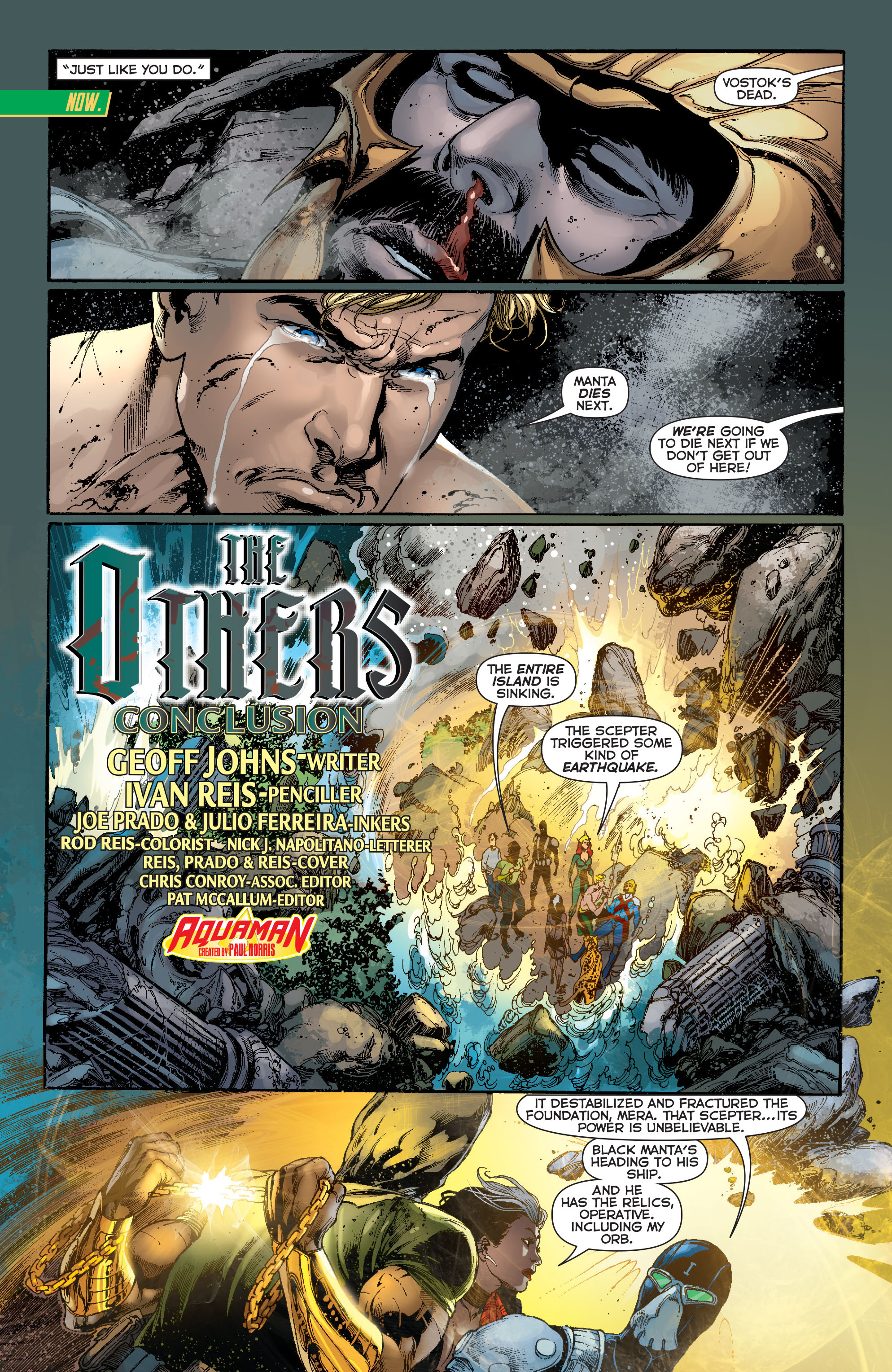 Read online Aquaman (2011) comic -  Issue #13 - 3