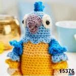 patron gratis loro amigurumi, free amigurumi pattern parrot