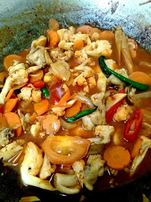 resepi paprik ayam, bahan membuat paprik ayam, cara membuat paprik ayam, paprik ayam