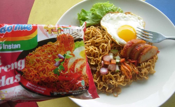 Resep Mie Goreng Pedas level