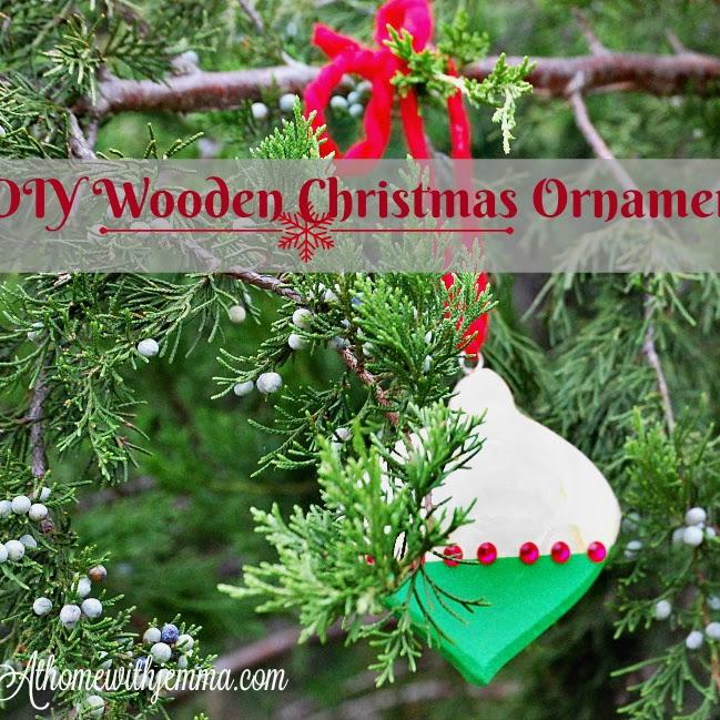 DIY Wooden Christmas Ornament
