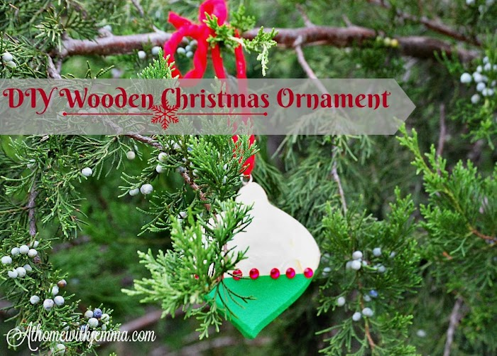 DIY Wooden Christmas Ornament