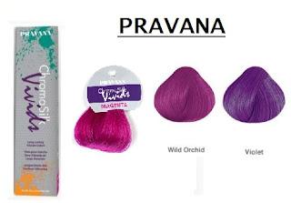 pravana vivids swatch wild orchid violet magenta compare review