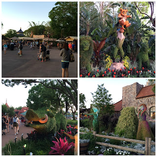 disney world epcot flower and garden festival 2016