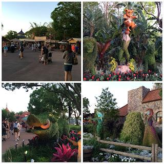 disney world epcot flower and garden festival 2016