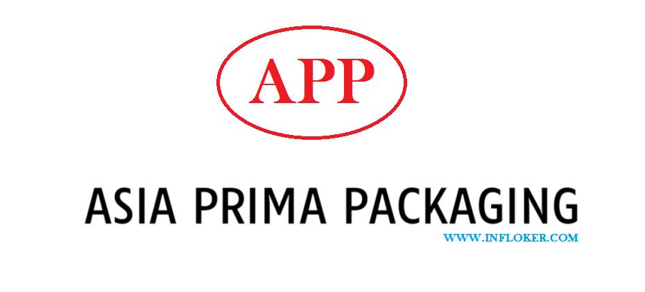 Lowongan Operator Mesin PT. Asia Prima Packaging ( APP ) Tangerang