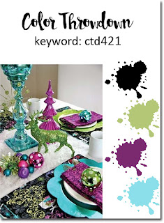 Color Throwdown #421