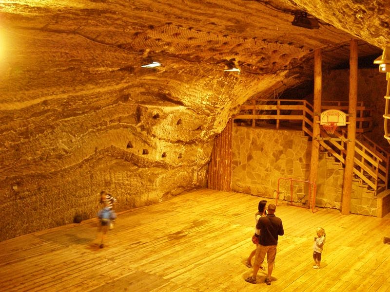 A playing ground, The Salt Mine