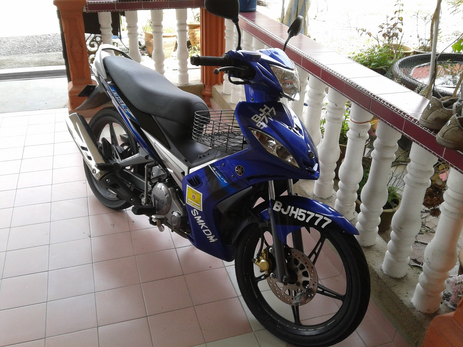 Top speed sebenar Yamaha 135LC (first batch with 4speed