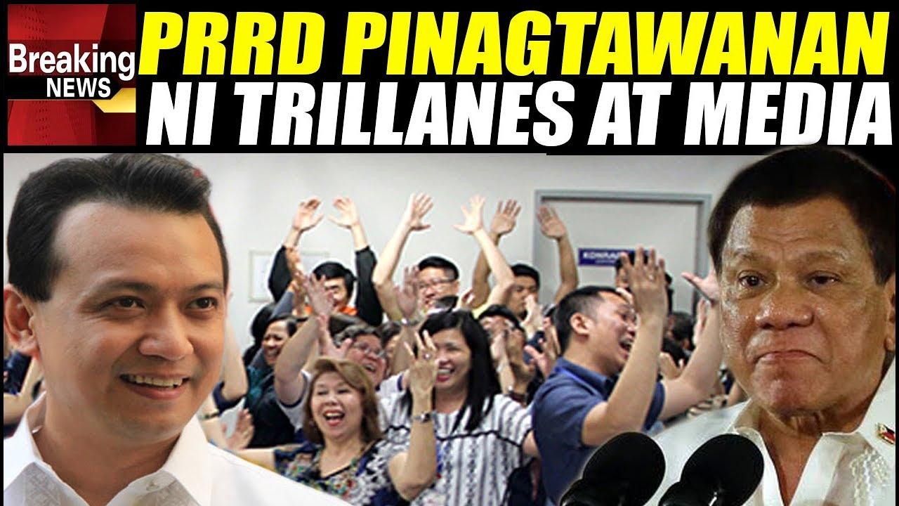 LOOK: Trillanes at Bias na Media, Pinagtatawanan si Duterte