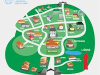 Peta Denah Kampus UNS