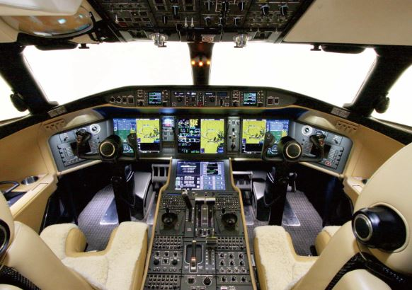Bombardier Global 6000 cockpit