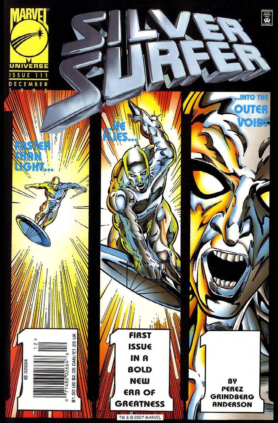 Read online Silver Surfer (1987) comic -  Issue #111 - 1