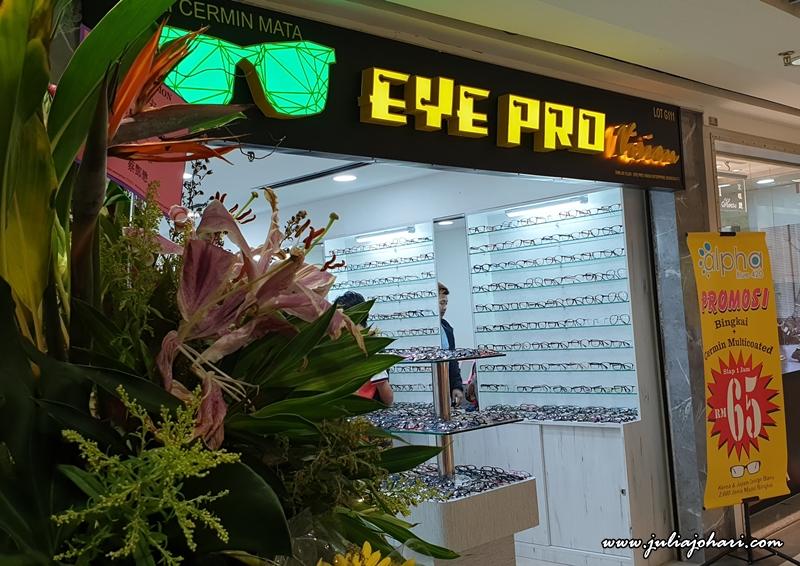 Spek Mata Murah? Jom Jumpa Encik William di Eye Pro Vision Sungei Wang