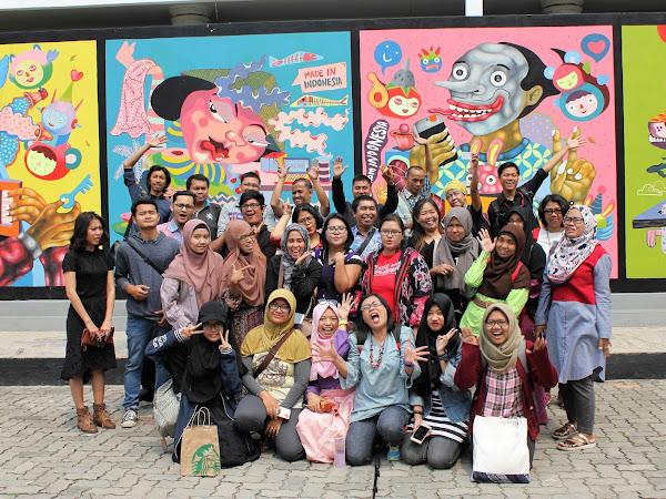 Menikmati Lukisan Istana Negara di Galeri Nasional Jakarta.
